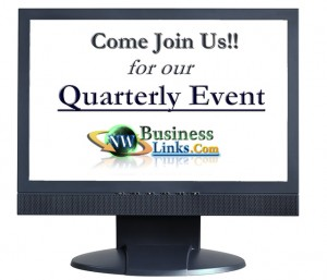 Come join us for our quarterly event!